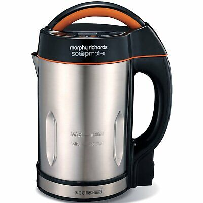 Morphy Richards 501012 Brushed Stainless Steel Soup Maker- 2 Years Guarantee  • 59.95£