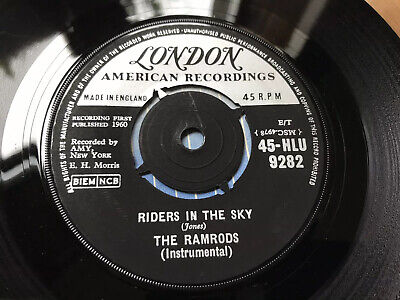 The Ramrods- Riders In The Sky- (Super Original London Issue) • 4.99£