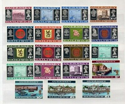 A Fantastic Mint Guernsey 1969-70 Group Of Issues With Variations • 2.49£