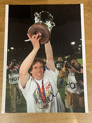 Gianfranco Zola Hand Signed 16x12 (A3) Chelsea FC Cup Winners Cup Trophy Photo • 29.99£