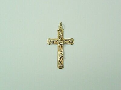 9ct Gold Hallmarked Clogau Cross Pendant • 135£