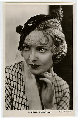 $ CDN14.11 • Buy 1930s Vintage Movie Film Star MADELEINE CARROLL Madeline British Photo Postcard