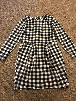 Girls Checked Dress Age 4-6 • 1.20£