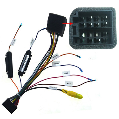$13.48 • Buy Car Stereo Radio ISO Lead Wiring Harness Connector Adaptor Cable Loom 20 Pins