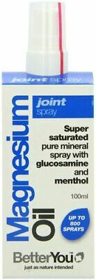 Better You  Magnesium Oil Joint Spray - 100ml - 66258 • 16.54£