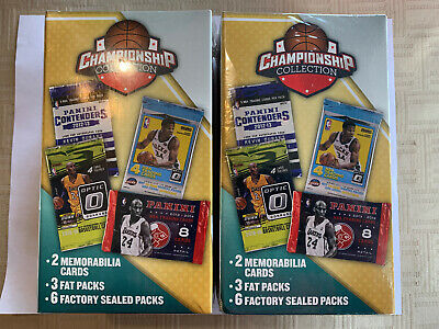 $109.99 • Buy 2019 CHAMPIONSHIP COLLECTION Basketball 2 Box Lot Of New Sealed Boxes