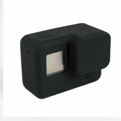 $ CDN8.46 • Buy Black Soft Silicone Camera Protective Case With Lens Cap For GoPro Hero 7 6 5