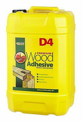 25ltr D4 Wood Adhesive Glue Everbuild 25 Litre Waterproof Industrial Grade • 115£