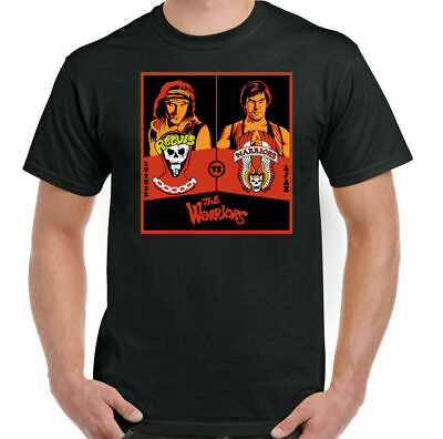 £9.94 • Buy THE WARRIORS T-SHIRT Mens Retro Movie USA 80s 70s Gang Film Cult New York Rogues