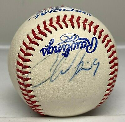 $ CDN1.31 • Buy Chone Figgins Single Signed Baseball Autographed AUTO Angels Mariners Dodgers