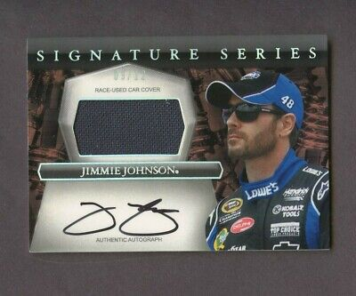 $10.50 • Buy 2012 Press Pass Eclipse Nascar Jimmie Johnson Car Cover Patch AUTO /12
