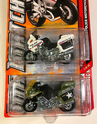 $2.98 • Buy 2 Matchbox BMW R1200 RT-R   2011 Police Motorcycle  2012 Military