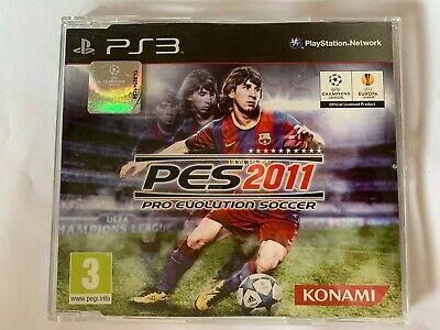 AU14.99 • Buy PES 2011: Pro Evolution Soccer (PS3) [PAL] PROMO NOT FOR RESALE JEWEL CASE