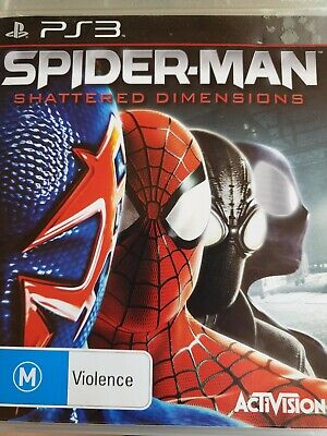 AU36 • Buy Spider-man Shattered Dimensions Playstation 3 Game Ps3 Like New