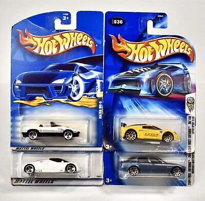 $ CDN14.99 • Buy Hot Wheels Mazda MX-5 Ford GT-90 Lotus Sport Elise Maserati Quatroporte Lot Of 4
