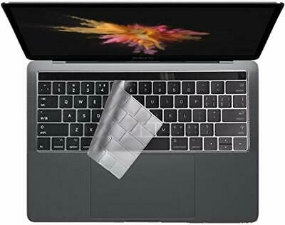 Colel Thin Clear Keyboard Protector Cover Macbook Pro 13  15  Model A1706 EU/US • 3.99£