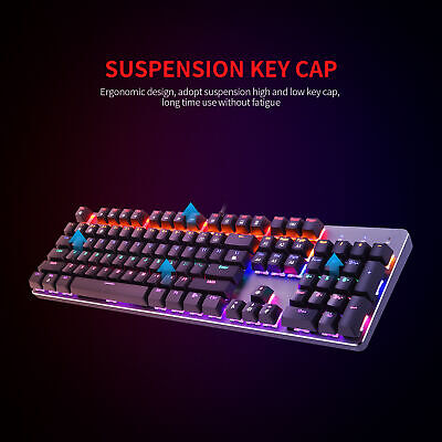 AU62.62 • Buy REDRAGON Mechanical Gaming Keyboard Backlight LED Blue Switches 87 Keys
