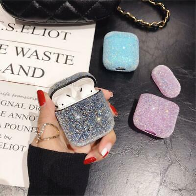 AU11.99 • Buy For Apple AirPods Case Protect Glitter Silicone Cover Skin AirPod Earphone Cases