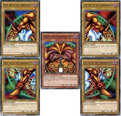 £16.69 • Buy Complete Exodia The Forbidden One Set - All 5 Cards :: 1st Edition LDK2 Mint YuG