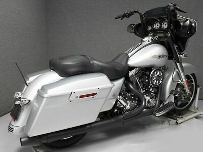 $1099.95 • Buy Black Thunderheader 2 Into 1 2-1 Exhaust Header Pipe System Harley Touring 10-16