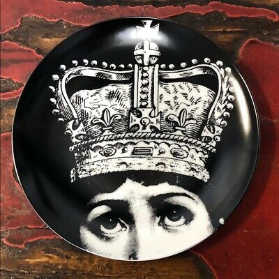 $44.99 • Buy NEW~Fornasetti Dinner Plate/ Decoration 8  Round