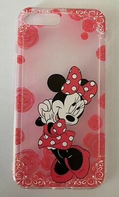 AU14.45 • Buy NEW IPhone 7/8 Plus Disney Pink Minnie Mouse Silicon Soft Phone Case