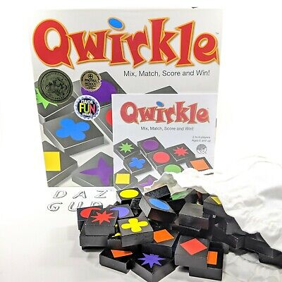 $ CDN18.98 • Buy QWIRKLE Board Game Award Winner / MENSA Complete