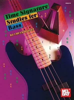 £14 • Buy Time Signature Studies For Bass  Bass Guitar Chuck Rainey Book Only MB95372