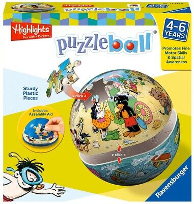 $14.99 • Buy Ravensburger Highlights Puzzle Ball 40 Piece 117765 *New In Sealed Box*