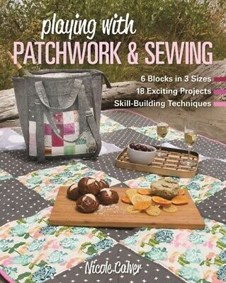 Playing With Patchwork & Sewing • 16.35£