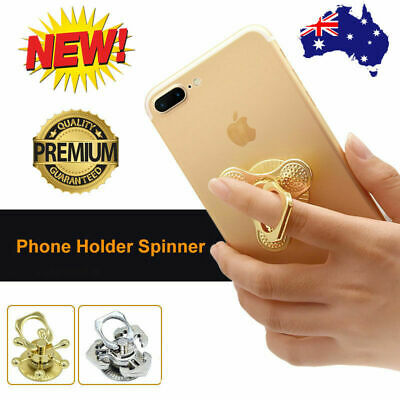 AU7.99 • Buy Fidget Spinner Pop Mobile Phone Grip Holder Stand Socket For IPhone Samsung Xmas