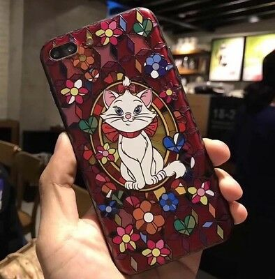 AU14.45 • Buy New Iphone 7/8 Plus Disney Aristocats Marie Cat Stain Glass Hard Phone Case