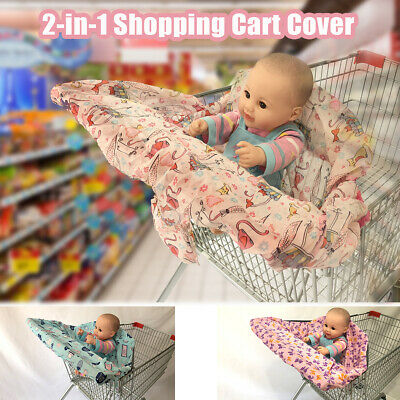 £8.09 • Buy Baby Shopping Trolley High Chair Cart Cover Child Seat Protector Mat Supermarket