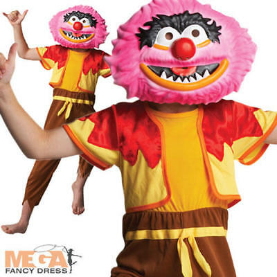 Animal The Muppets Boys Fancy Dress TV Puppet Kids Halloween Costume Outfit  • 19.49£