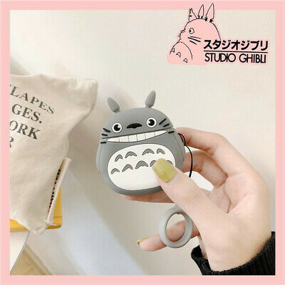 Catroon 3D TOTORO Earphone Case Cover For A Pple Airpods 1/2 Charger Case Gift • 3.50£