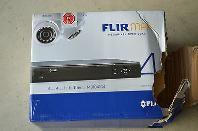 $275 • Buy New FLIR Digimerge HD M31041C4 4 Camera Megapixel Over Coax Security System 1TB
