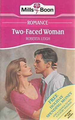 Leigh, Roberta, Two-Faced Woman, Very Good, Paperback • 2.99£