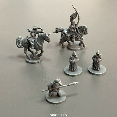 AU6.66 • Buy 5x Knight Hero For Dungeons & Dragons DND Miniatures Board Game Figure