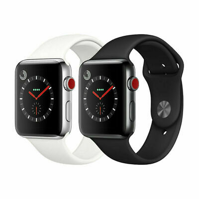 $ CDN317.05 • Buy Apple Watch Series 3 - STAINLESS STEEL - GPS + Cellular - 38MM 42MM