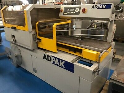 Adpack Automatic L Sealer & Shrink Tunnel - Stock No M045757  Bakery Equipment  • 12,000£