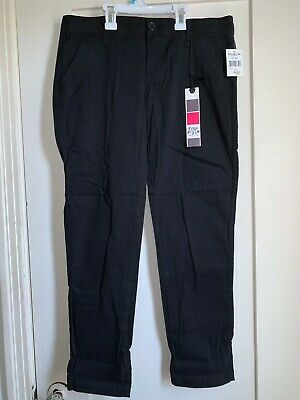 $10.70 • Buy Freestyle Revolution Black Skinny Capis Pants Size: 7 NWT