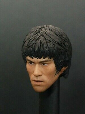$151.99 • Buy 1/6 Bruce Lee Head Sculpt For 12  Hot Toys Enterbay PHICEN Male Figure Body❶USA❶