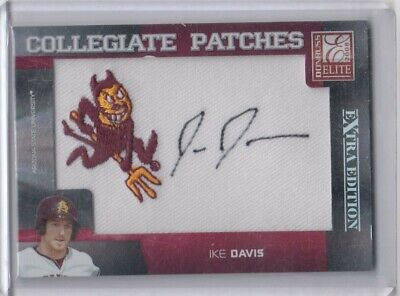 $12 • Buy 2008 Elite Ike Davis Arizona State Asu Collegiate Patches Rookie Autograph Auto
