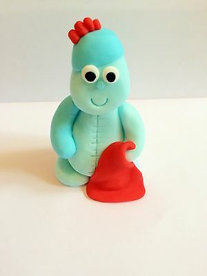 Edible In The Style Of Iggle Piggle Garden (unofficial) Cake Topper Decoration • 8£