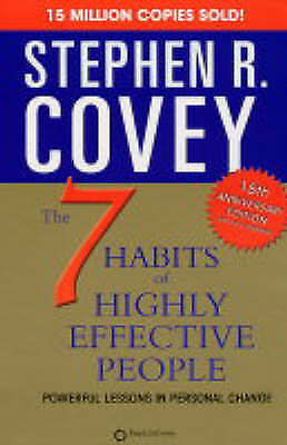 AU14.24 • Buy 7 Habits Of Highly Effective People Stephen R. Covey Paperback 25th Anniversary