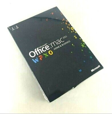 AU89 • Buy Microsoft Office Home And Business 2011 For 1 Mac English W6F-00063