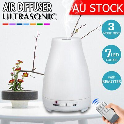 AU22.99 • Buy LED Ultrasonic Aroma Aromatherapy Diffuser Essential Oil Air Humidifier Purifier