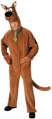 Mens Adult Deluxe SCOOBY DOO Brown Dog Costume Outfit • 71.60£