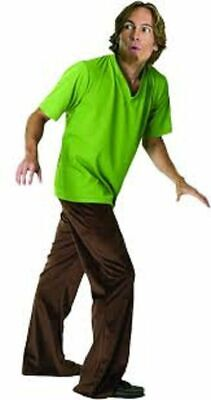 Mens Adult Funny SCOOBY DOO Shaggy Costume Outfit • 39.74£