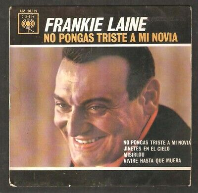 FRANKIE LAINE,Riders In The Sky,Miserlou (in Spanish)   +2.SPANISH EP. • 6.50£